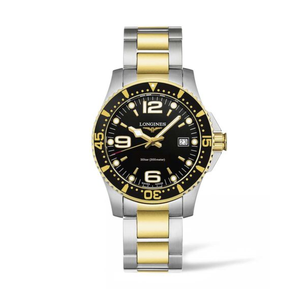 L37403567 — HydroConquest 41mm Stainless Steel/PVD Diving Watch
