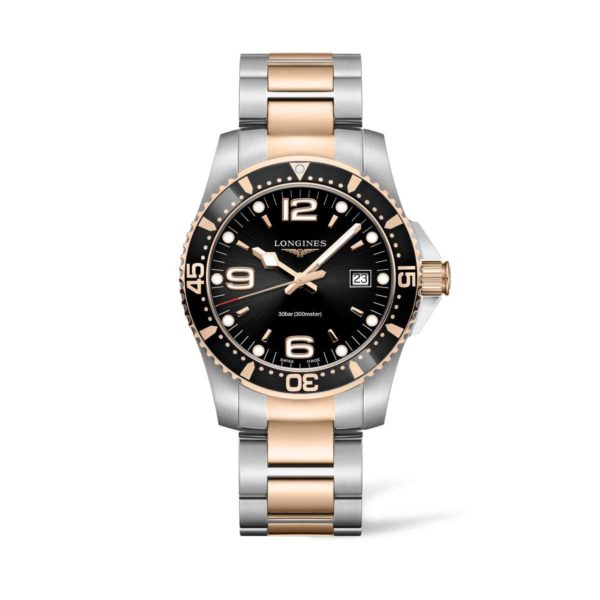 L37403587 — HydroConquest 41mm Stainless Steel/PVD Diving Watch