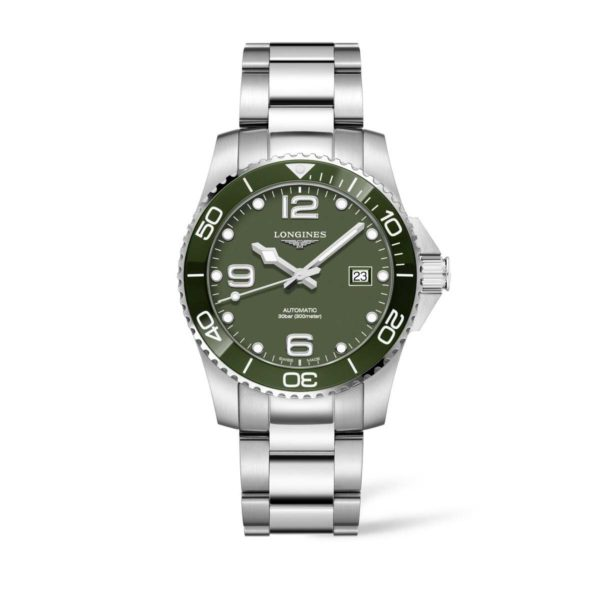 L37814066 — HydroConquest 41mm Green Dial Diving Watch Automatic