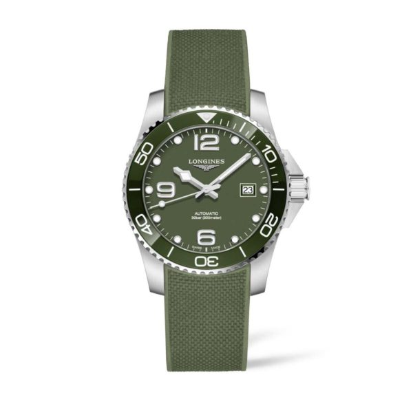 L37814069 — HydroConquest 41mm Green Dial Diving Watch Automatic