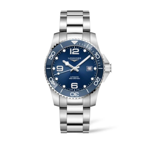 L37814966 — HydroConquest 41mm Blue Dial and ceramic Automatic Diving Watch