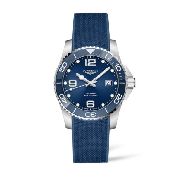 L37814969 — HydroConquest 41mm Blue Dial and ceramic Automatic Diving Watch