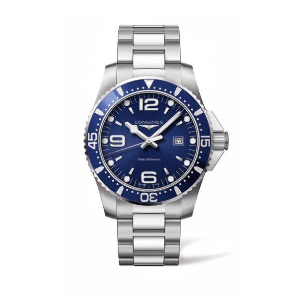 L38404966 — HydroConquest 44mm Blue Dial Diving Watch