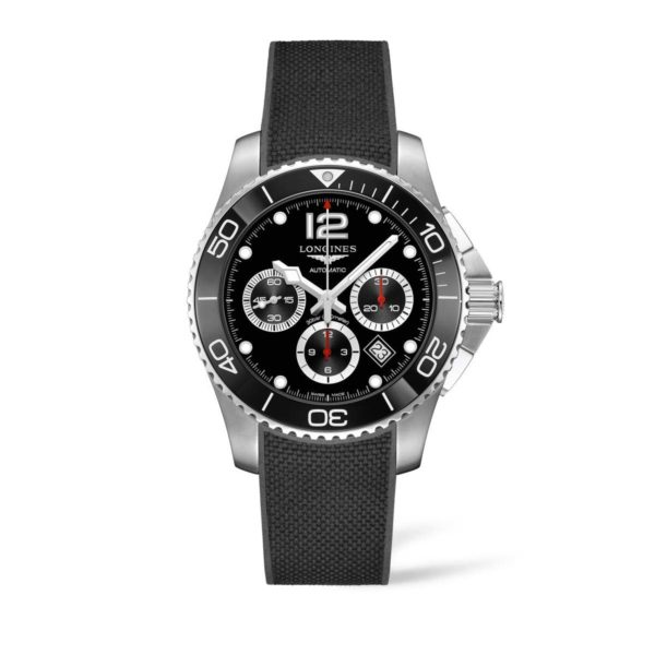 L38834569 — HydroConquest 43mm Stainless Steel/Ceramic Chronograph