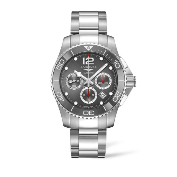 L38834766 — HydroConquest 43mm Stainless Steel/Ceramic Chronograph