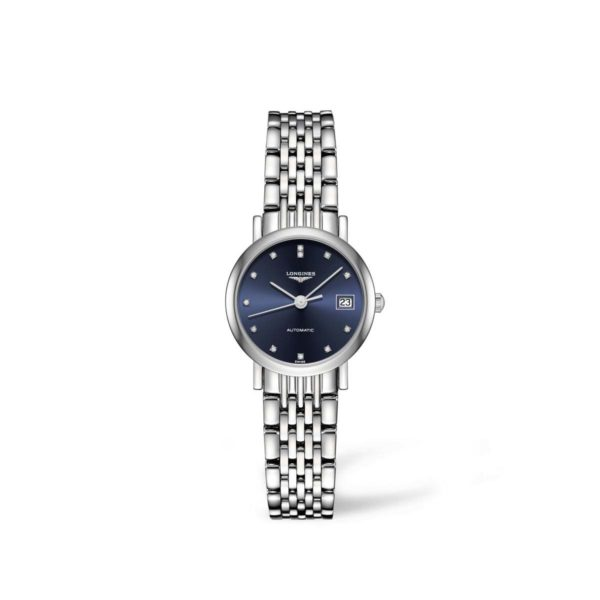 L43094976 — The Longines Elegant Collection 25mm Blue Dial Automatic
