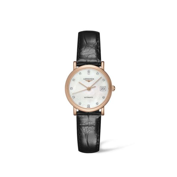 L43788870 — The Longines Elegant Collection 27mm Gold 18K Automatic