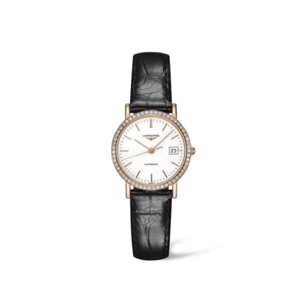 L43789120 — The Longines Elegant Collection 27mm Gold 18K Automatic