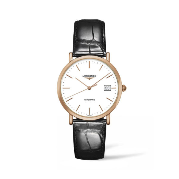 L47878120 — The Longines Elegant Collection 37mm Gold 18K Automatic