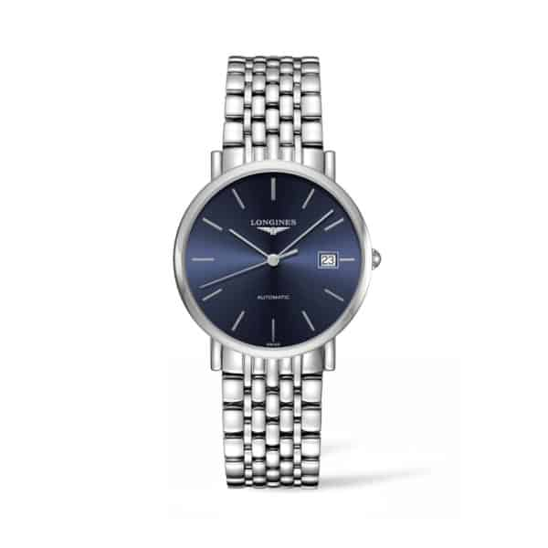 L48104926 — The Longines Elegant Collection 37mm Blue Dial Automatic