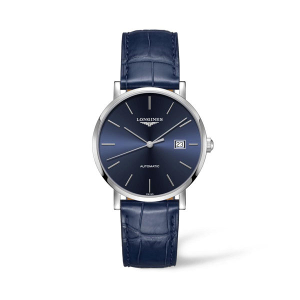 L49104922 — The Longines Elegant Collection 39mm Blue Dial Automatic