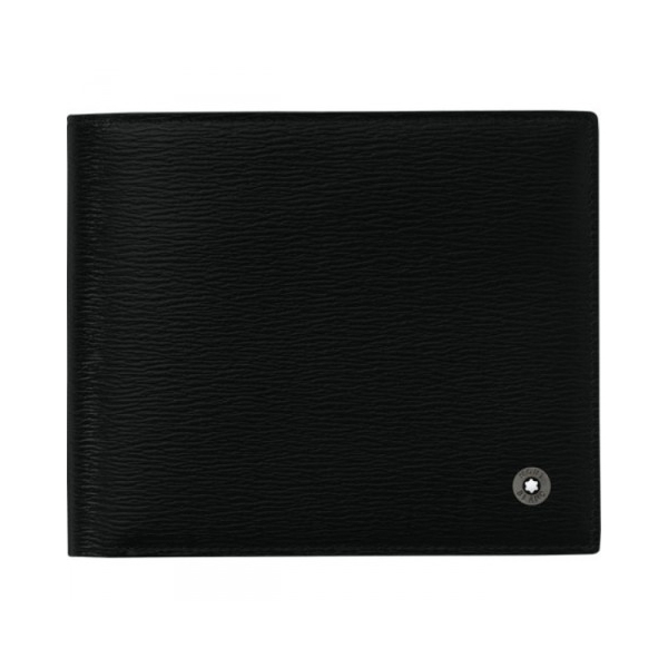 101866 — Montblanc Wst Wallet 11Cc View Pocket Black