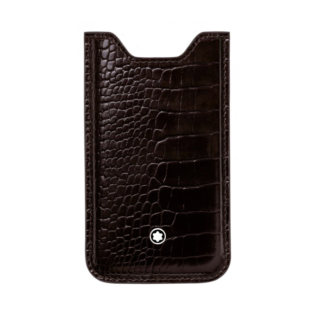 109628 — Montblanc Meisterstuck Leather Iphone 5 Case