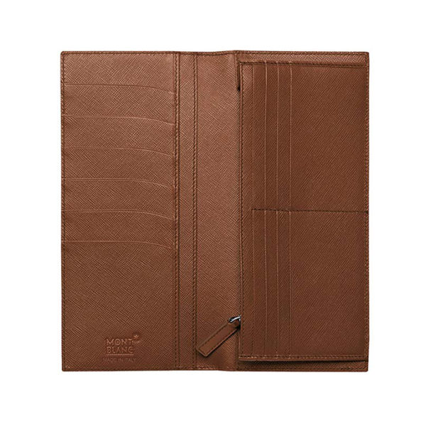109657 — Montblanc Meisterstuck Leather The Look 14Cc Small Wallet