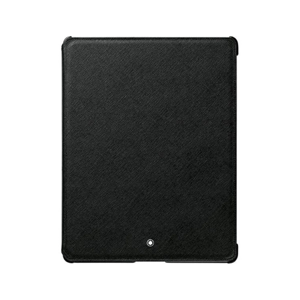 111249 — Montblanc Meisterstuck Black Leather Ipad3 Tablet Case