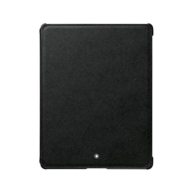 111249 — Montblanc Meisterstuck Black Leather Ipad3 Tablet Case