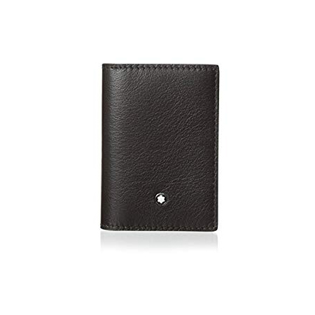 111272 — Montblanc Meisterstuck Tuscany Brown Buffalo Business Card Holder