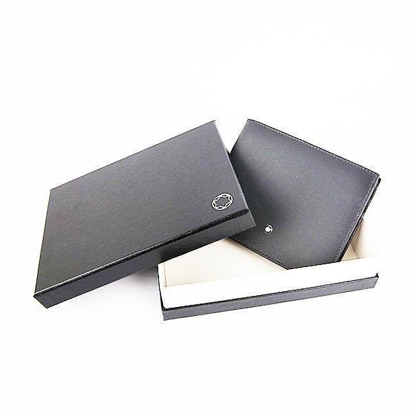 113163 — Montblanc Mst Sel Sfumato Wallet 6Cc Flannel