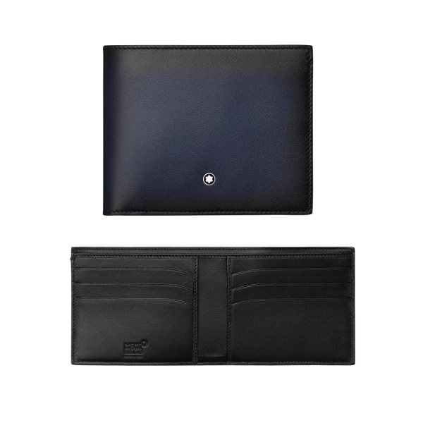 113165 — Montblanc Mst Sel Sfumato Wallet 6Cc Navy