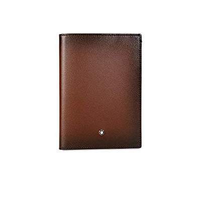 113170 — Montblanc Mst Sel Sfumato Passport Holder Brown