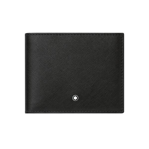 113215 — Montblanc Mb Sartorial Wallet 6Cc Black