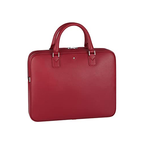 113632 — Montblanc Mb Sartorial Document Case Small Red