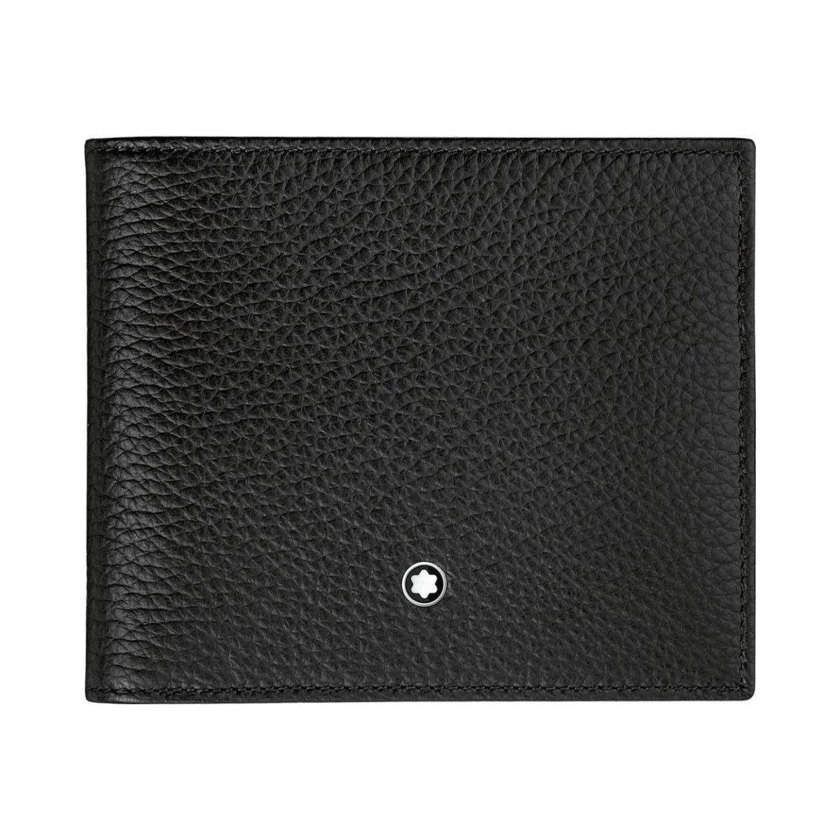 114464 — Montblanc Mst Soft Grain Wallet 8Cc Black