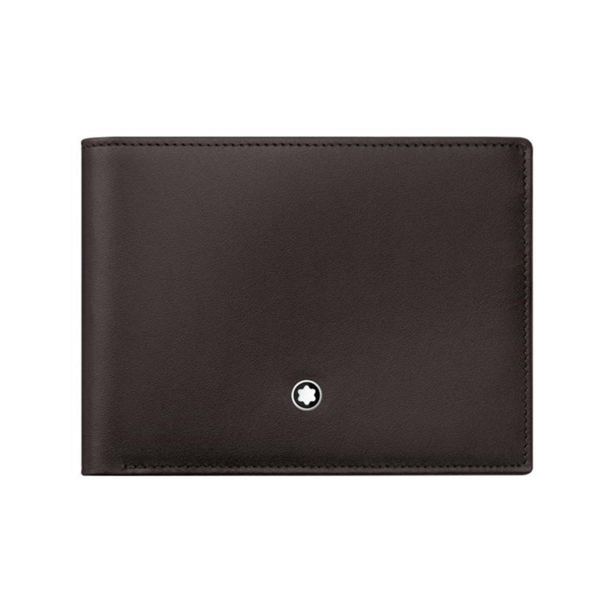 114541 — Montblanc Mst Wallet 6Cc Brown