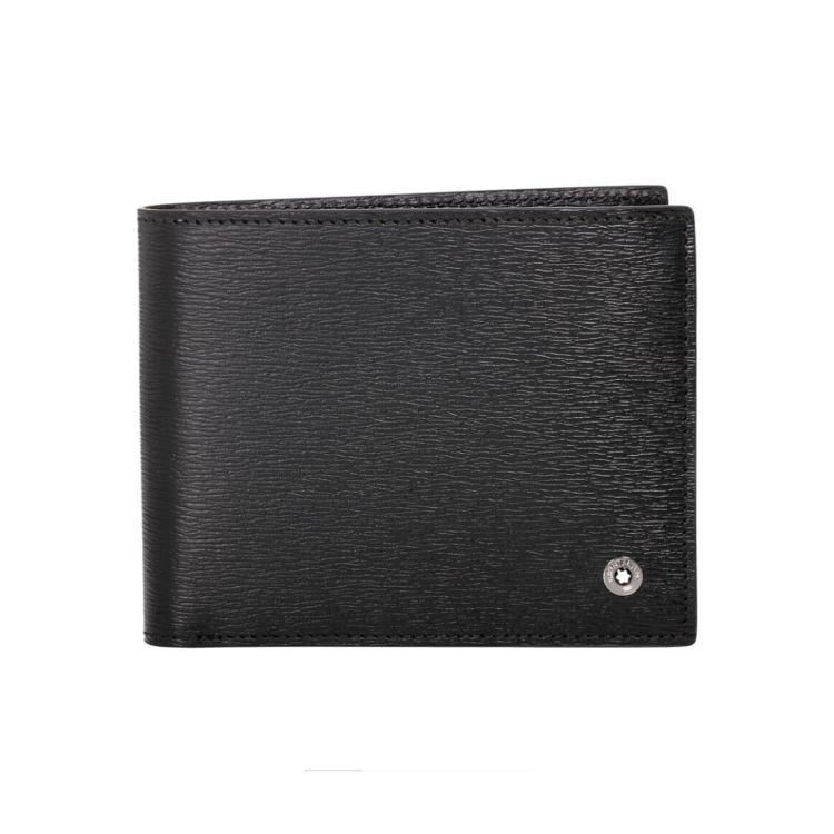 114686 — Montblanc 4810 Wst Wallet 6Cc Black