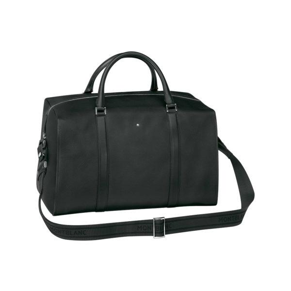 114716 — Montblanc Montblanc Misterstuck Soft Grain Duffle Bag-Black