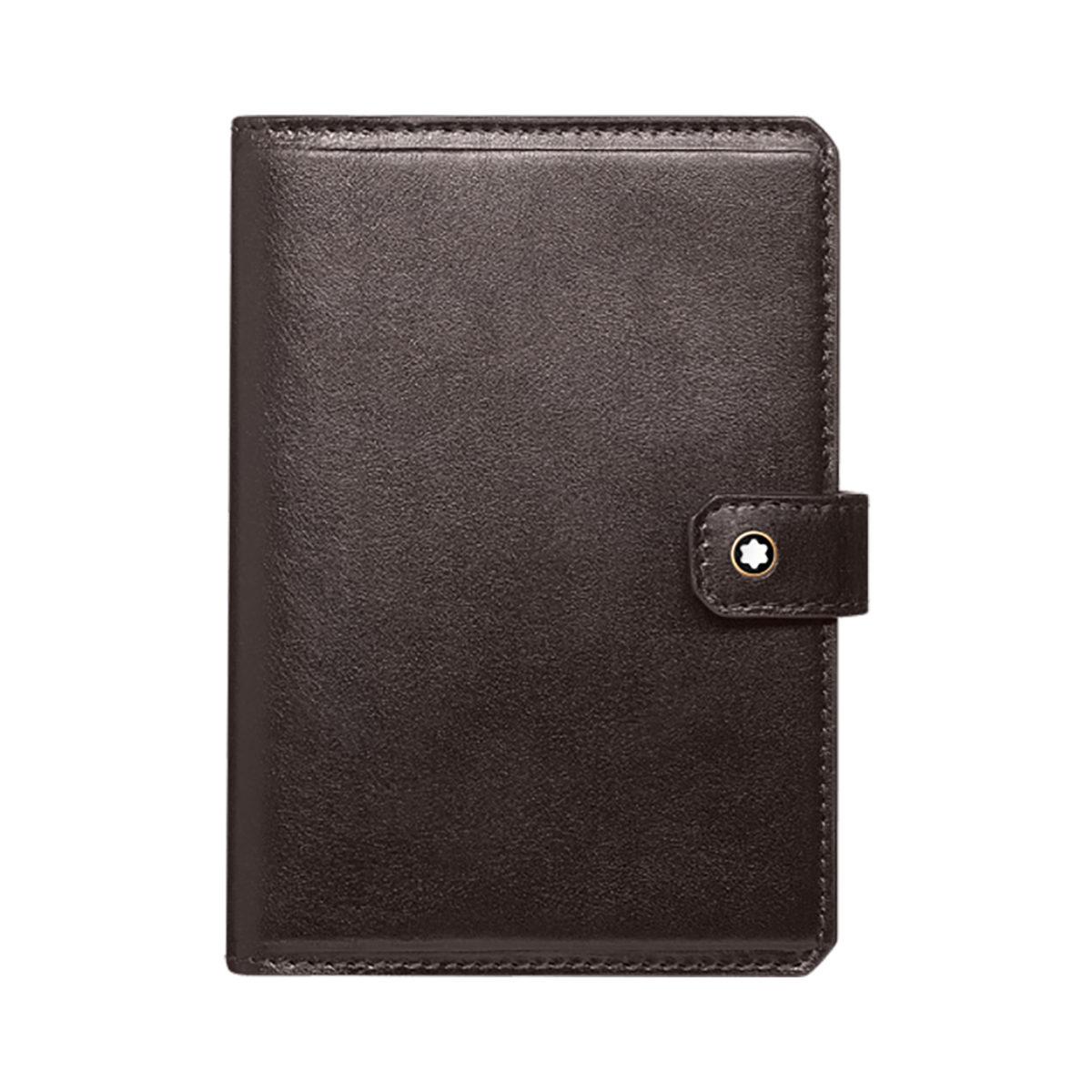 116824 — Montblanc 1926 Mb Heritage Passporthold Dark Brown