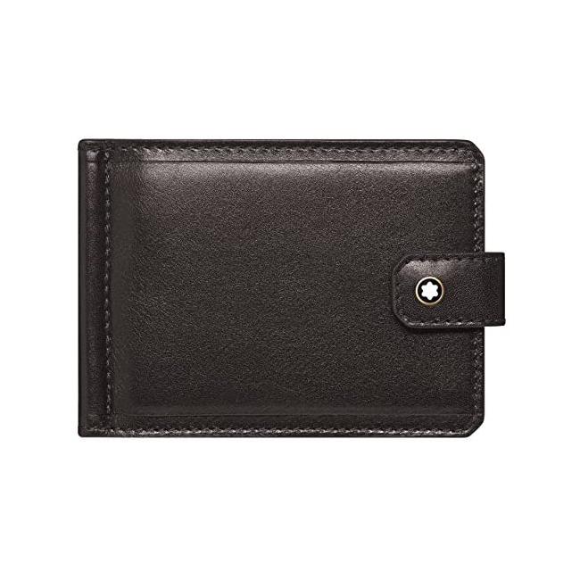 116836 — Montblanc 1926 Mb Heritage Wallet 6Cc Mclip S Dkbr