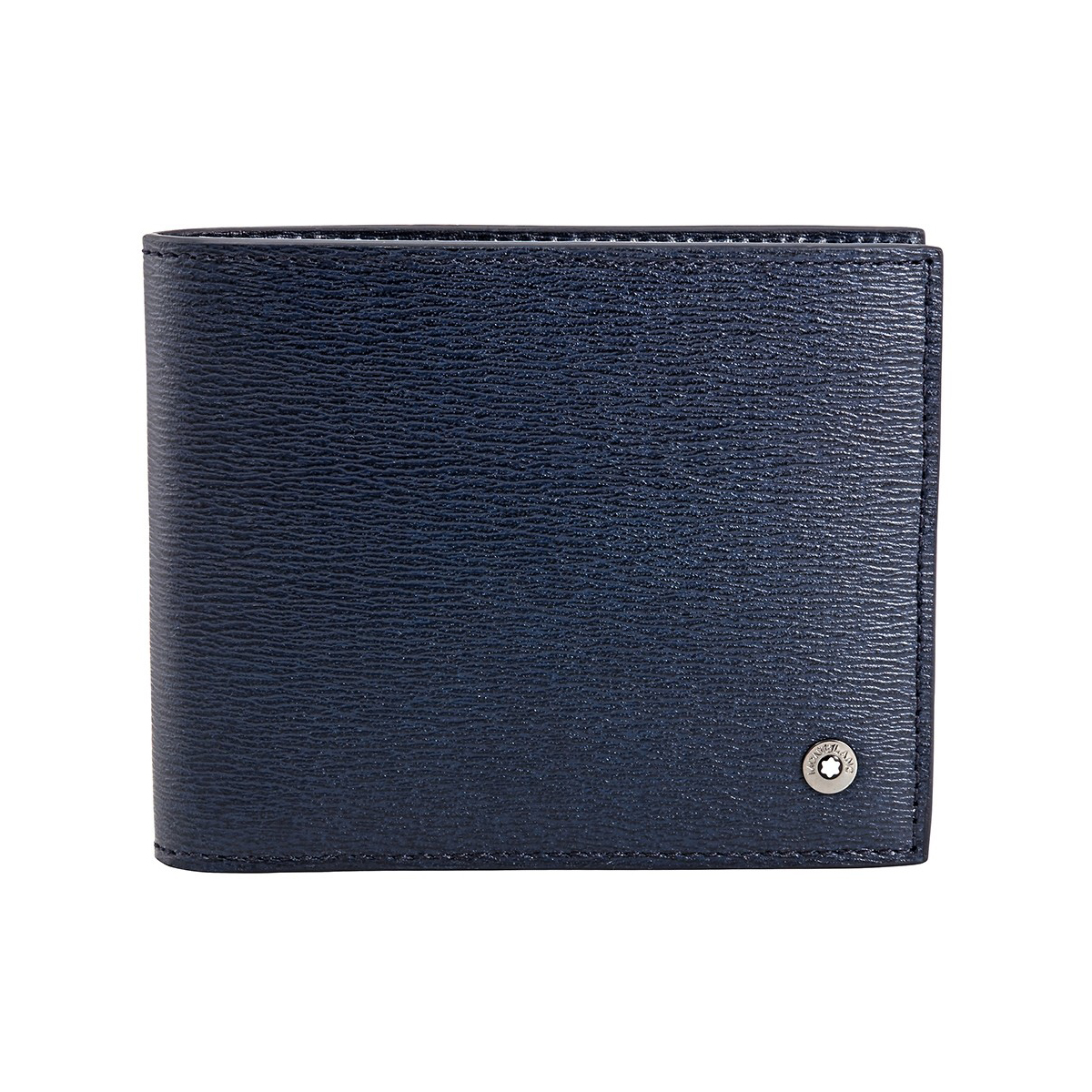 118653 — Montblanc 4810 Wst Wallet 6Cc Blue