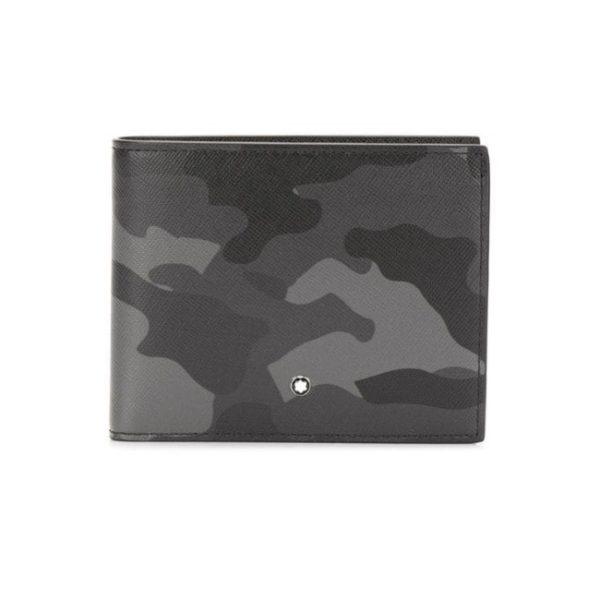 118673 — Montblanc Mb Sartorial Wallet 6Cc Camou Grey