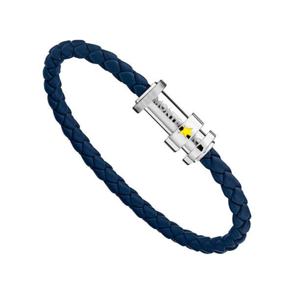 11902268 — Montblanc Bracelet Le Petit Prince, Steel, Lea, 68