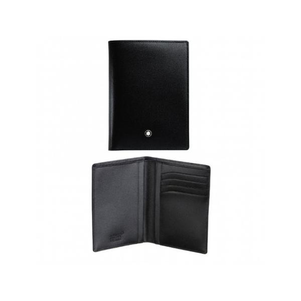 11987 — Montblanc Meisterstuck Wallet Vertical 4Cc